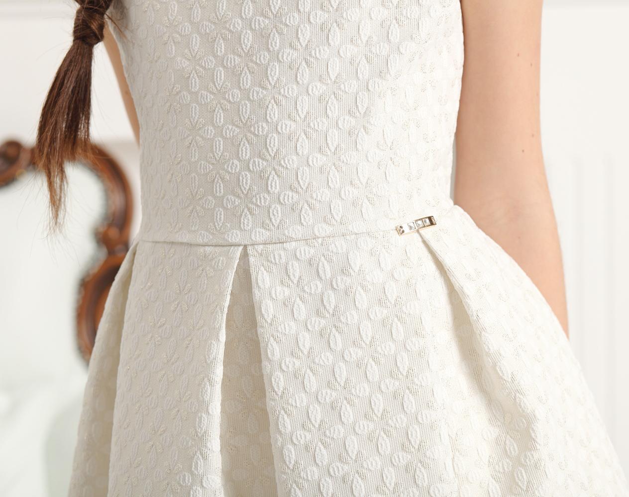 sukienka dla dziewczynki wizytowa po komunii na wesele
