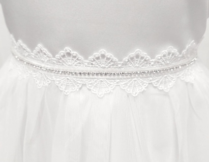 sukienka biała dla dziewczynki na komunię