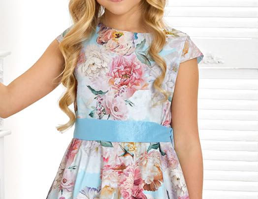 sukienka dla dziewczynki z koła