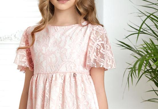koronkowa sukienka dla dziewczynki na wesele