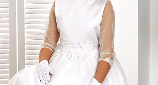 sukienka dziewczęca na komunię